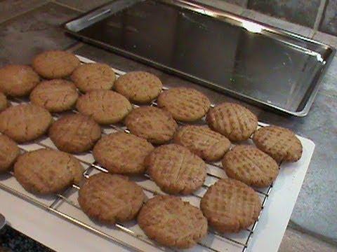 Stainless Steel Baking Sheet--Peanut Butter Cookies