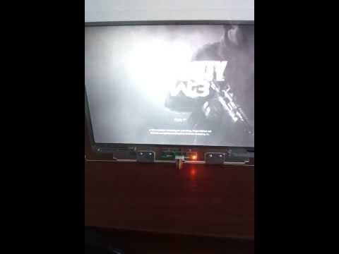 Laptop LCD panel as monitor + PS3