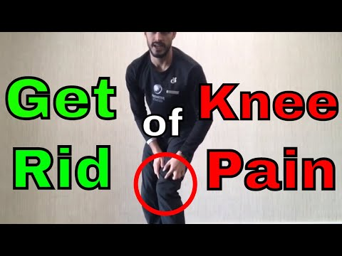 How to Get Rid of Knee Pain - 4 Exercises to Rehab Your Knees