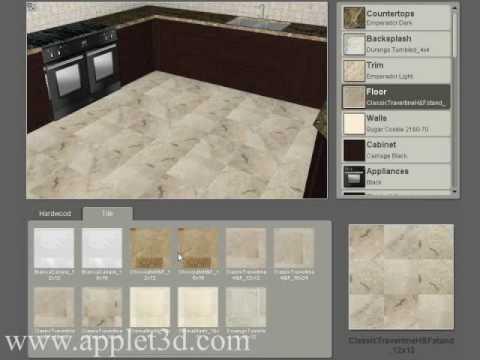 3D Showroom - online kitchen design tool