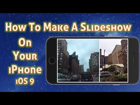 How To Make a Slideshow On iPhone With Music