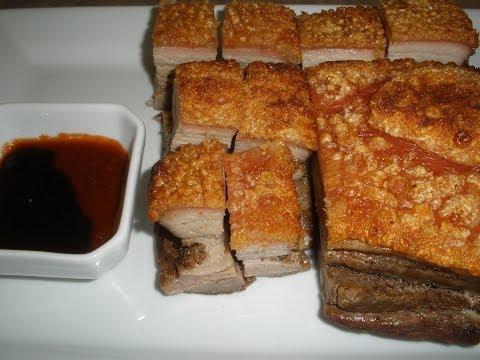 Roasted Pork Belly Recipe