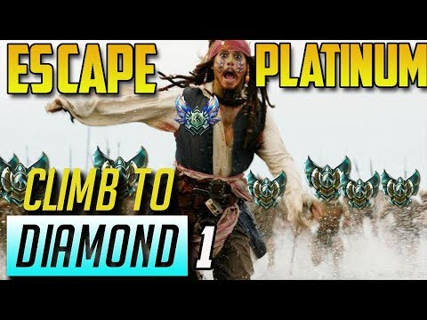 ESCAPE FROM PLATINUM (wish me luck)- Climb to Diamond (Episode 1)