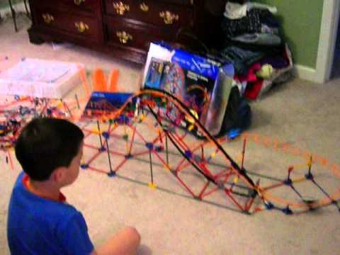 KNEX Roller Coaster - Serpent Spiral Alternate Build - Young TMBB