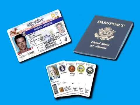 Get a Real ID - Your First Nevada Driver's License or ID Card