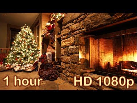☆ 1 HOUR ☆ CHRISTMAS MUSIC ♫ Christmas Music Instrumental ☆ Christmas Music with Fireplace ♫ Medley