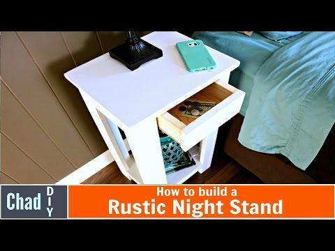 Hidden Drawer Night Stand