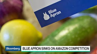 Blue Apron Sinks on Amazon Competition