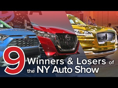 9 Winners and Losers of the 2018 New York Auto Show: The Short List