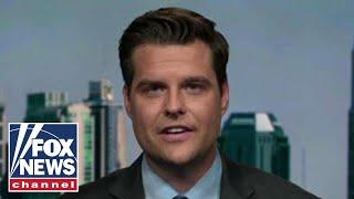 Gaetz: Trump was taking up Ukraine