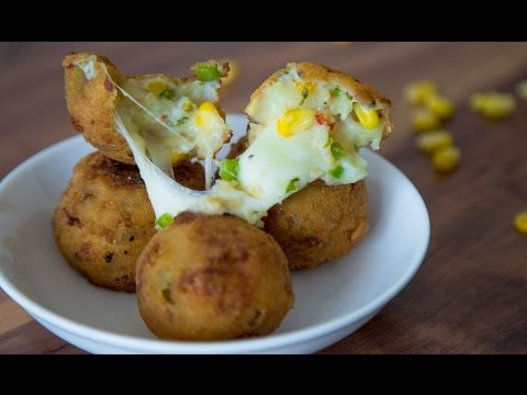 Potato & Corn Cheese Balls | Quick & Easy To Make Appetizer By Teamwork Food