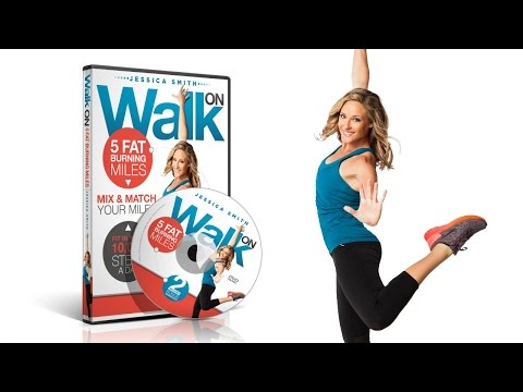 Walk On 5 Fat Burning Miles Walking Dvd Featuring Fitness Expert Jess