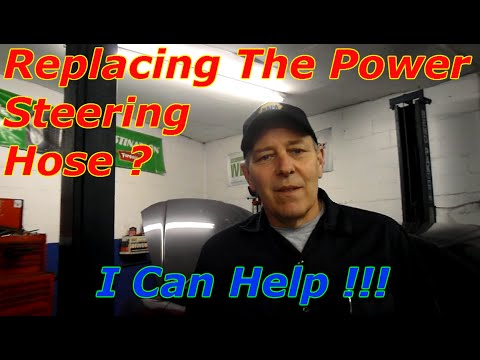How To Replace The High Pressure Power Steering Hose