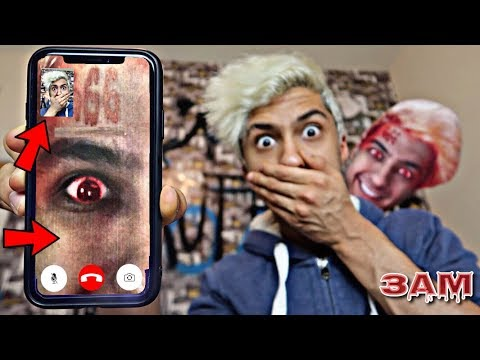 DO NOT FACETIME YOURSELF AT 3AM!! *OMG I ANSWERED*