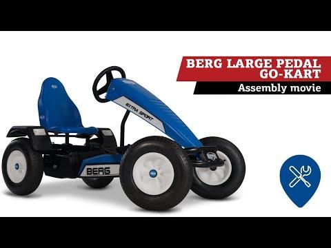 BERG Large Pedal go-kart | assembly movie