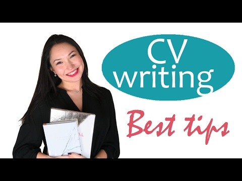 How to write a rocking CV for a master's programme or your first job - best tips
