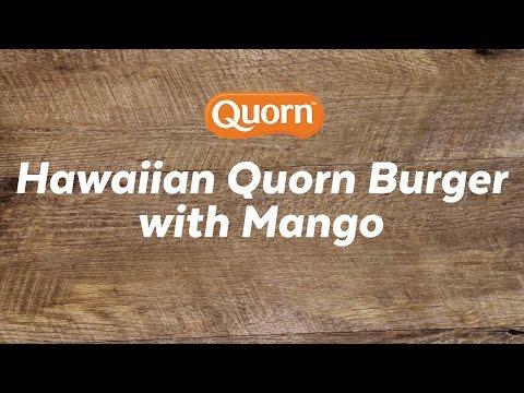 Hawaiian Quorn Burger with Mango Recipe | Quorn