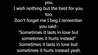 Adele  Someone Like You Lyrics