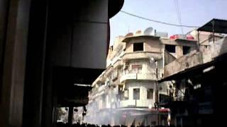 Syria Douma 1%4%2011  سوريا - دوما