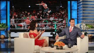 Jenna Dewan's Boyfriend Made Her Into a Wrestling Fan