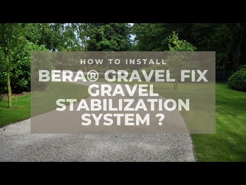 BERA Gravel Fix® - Installation Video: How to lay Gravel Fix - EN