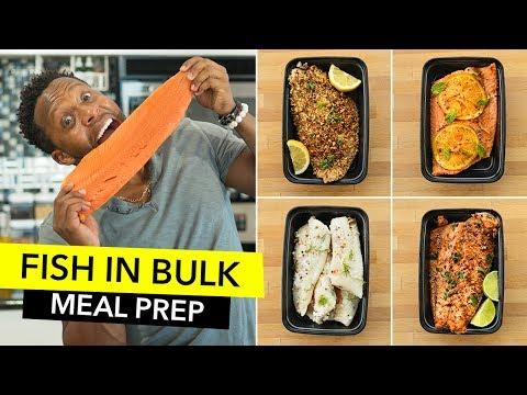 Fish in Bulk: Quick Recipes & FAQs  / Preparando Pescado para la Semana