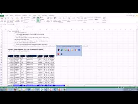 Office 2013 Class #46: Introduction to Databases and Access 2013