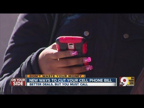Cut your cellphone bill