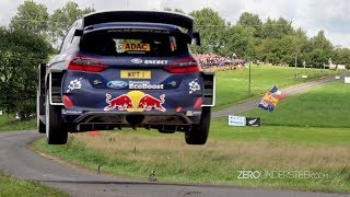 WRC Rally Deutschland 2017 | Big jumps & many crashes