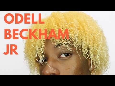 HOW TO GET ODELL BECKHAM BLONDE HAIR TUTORIAL | NATURAL, THOT BOY, 4C