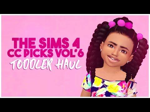 💕THE SIMS 4 CC PICKS VOL #6    TODDLER CC    SKIN DETAILS    HAIR    ACCESSORIES    CC LIST💕