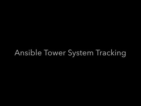 ansible tower system tracking demo