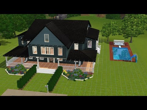 Sims 3 - Craftsman Style Speed Build