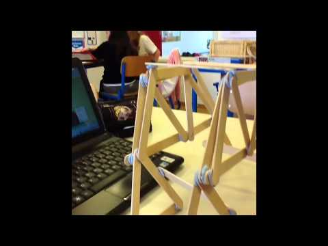 How to build a bridge out of popsicle sticks