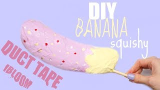 Download DUCT TAPE SQUISHY IBLOOM BANANA | How to make a squishy without foam #15 Video