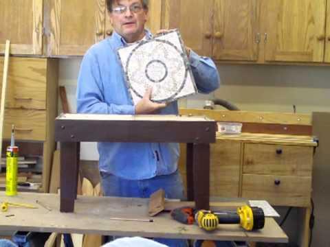 Cedar & Tile Tables