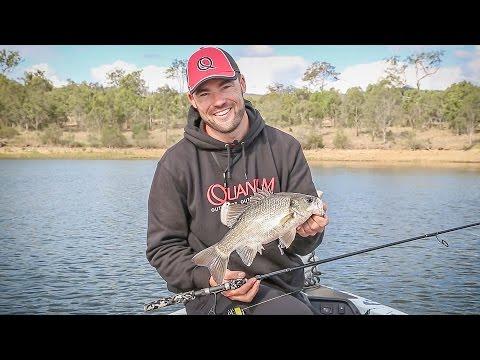 Australian Bass on Soft Plastics!