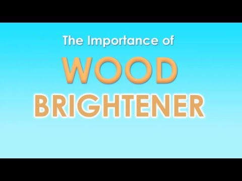 Use Wood Brightener Before Staining Your Deck