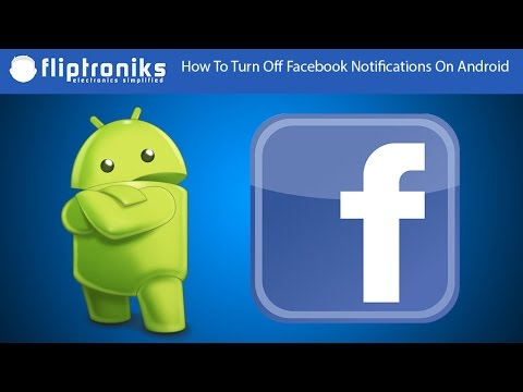 How To Turn Off Facebook Notifications On Android - Fliptroniks.com