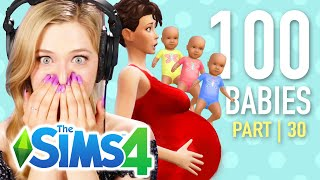 Single Girl Has Triplets In The Sims 4   Part 30