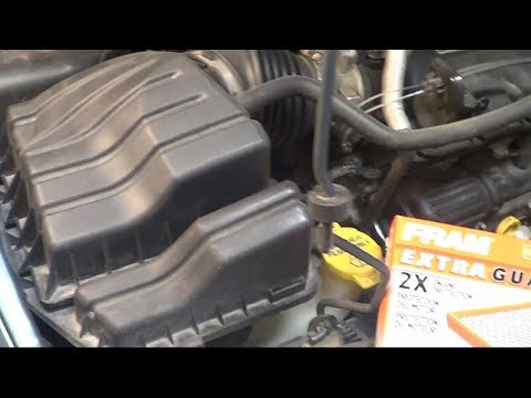 2005 T&C Air Filter Replacement