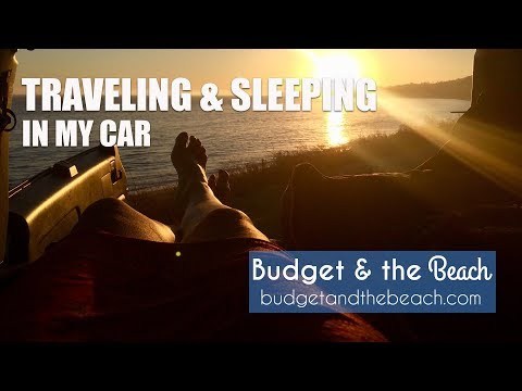 I Traveled for a Month and Slept in My Car