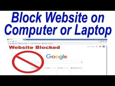 How to Block Website in Google Chrome ! Block Website on Computer or Laptop