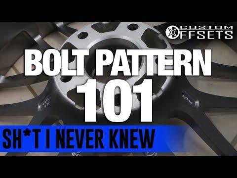 Sh*t I Never Knew: Bolt Pattern 101