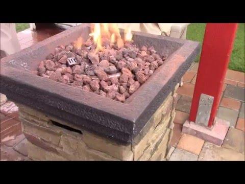 Rock Gas Fire Pit Review