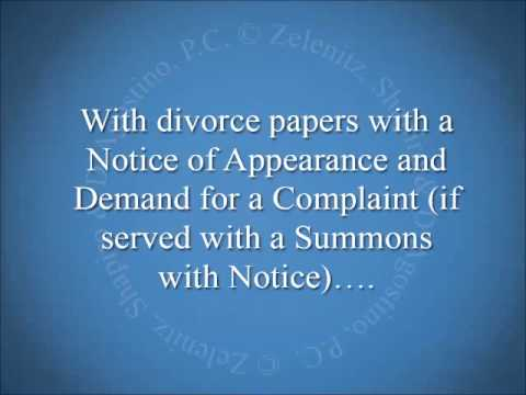 Once My Spouse Is Served With Divorce Papers How Long Do They Have To Respond?