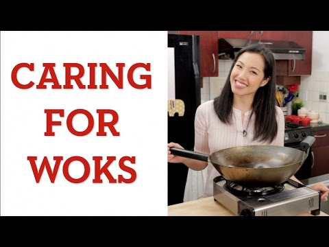 Caring for Carbon Steel Wok! - Hot Thai Kitchen