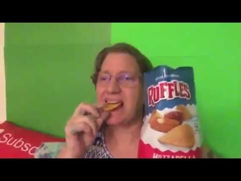 Ruffles Mozzarella and Marinara Flavored Potato Chips