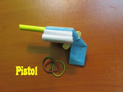 How to Make a Mini Pistol   Easy Tutorials
