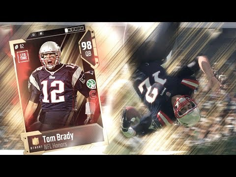 SCRAMBLE ONLY *CHALLENGE* WITH TOM BRADY   MADDEN 18 ULTIMATE TEAM GAMEPLAY EPISODE 64